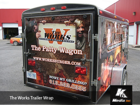Ottawa Trailer Wrap - The Works