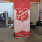 Ottawa Signs - Popup Display - Salvation Army