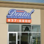 Ottawa Signs - Avalon Dental Channel Letter Sign