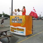 Ottawa Signs - BOB F.M Pressure Washer Game Banner Wrap
