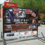 Ottawa Signs - Bike Show Portable SIgn Banner