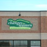 Ottawa Signs - Changes for Women East End Retail Level Sign