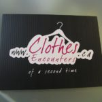 Ottawa Business Signage - Clothes Encounters Coroplast Sign