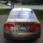 Ottawa Car Wrap - Domenics Music Honda Civic