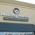 Ottawa Signs - Healing Hands Retail Level Signs