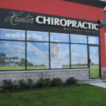 Ottawa Business Window Signs - Hunter Chiropractic