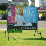 Ottawa Signs - Orleans Yoga Portable Sign Banner