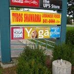 Ottawa Signs - Orleans Yoga Pylon Sign