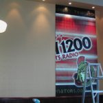 Ottawa Signs - Team 1200 Broadcast Booth Panel Install