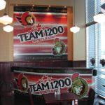 Ottawa Signs - Team 1200 BroatCast Booth