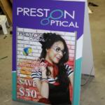 Ottawa A-Frame Sign - Preston Optical