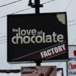 Ottawa Pylon Sign - The Love of Chocolate
