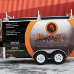 Ottawa Trailer Wrap - Blazing Construction