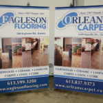 Ottawa Tradeshow Display - Eagleson Flooring X Banner