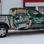 Ottawa Truck Wrap - HomeLife F150
