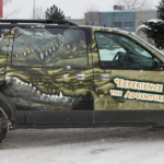 Ottawa Van Wrap - Little Ray's Reptiles Montana