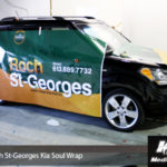 Roch St-Georges Ottawa Small Car Wrap