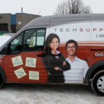 Ottawa Van Wrap - Tech Support Ford Transit