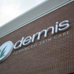 Dermis Channel Lettering